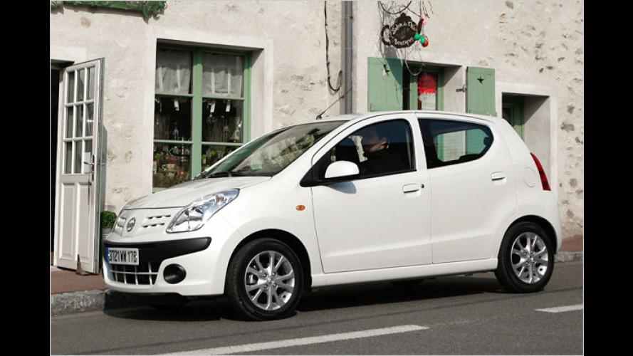 Pixo piekst den Markt: Billig-Nissan im Test
