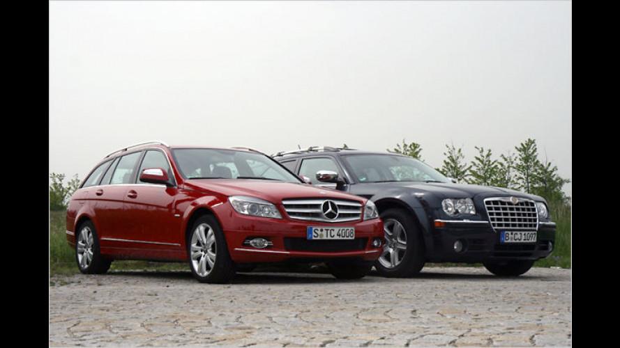 David gegen Goliath: Zwei ungleiche Diesel-Kombis treten an