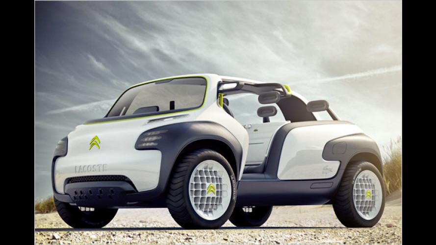 Citroën Lacoste: Concept Car im Buggy-Look steht in Paris