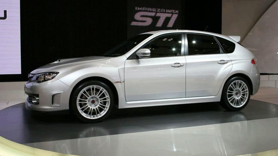 Subaru Impreza WRX STi in Detail