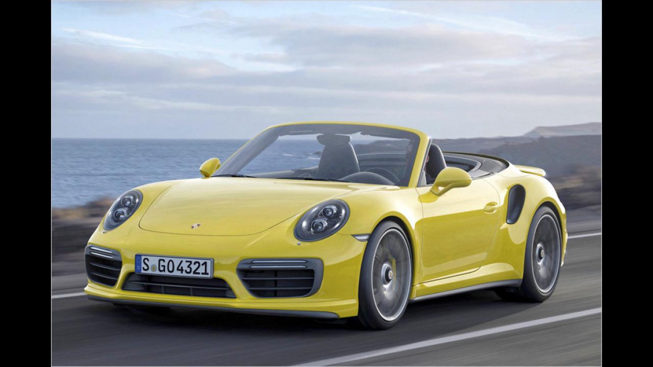 Porsche: Nein, es ist das 911 Turbo S Cabriolet
