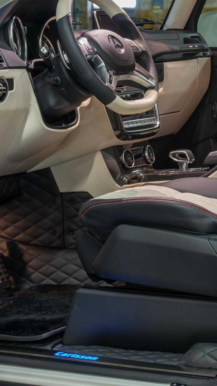 Mercedes G63 AMG 6x6 by Carlsson