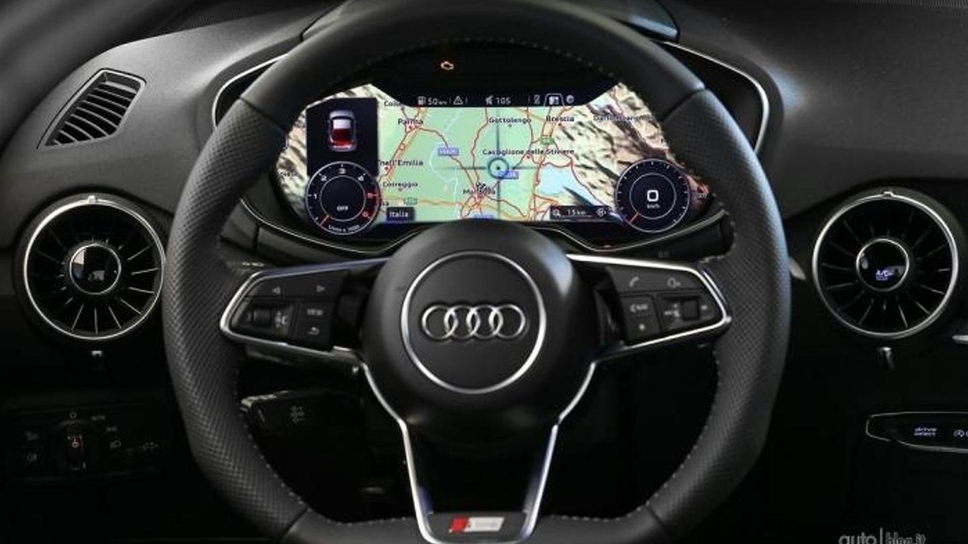 Руль Audi TT