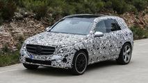 2015 / 2016 Mercedes GLC spy photo