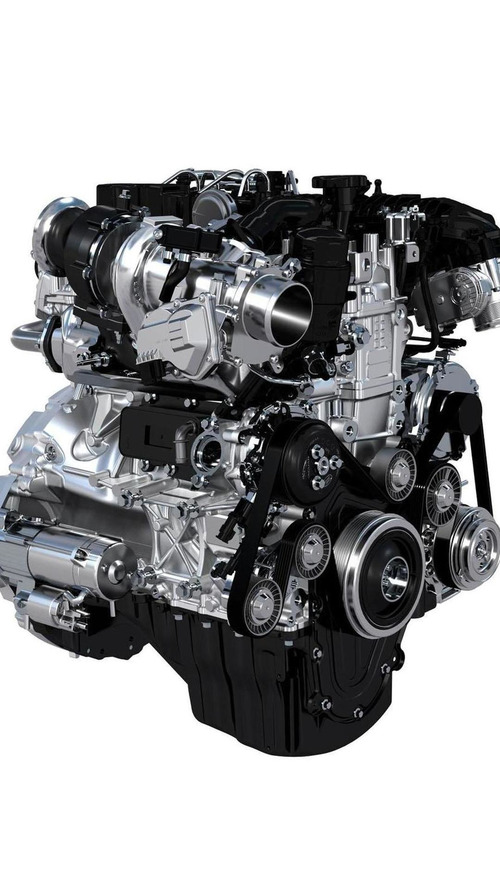 Jaguar Land Rover highlights their new Ingenium engine family