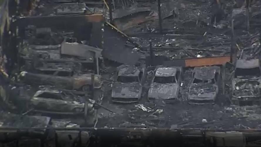 Classic Car Warehouse Fire