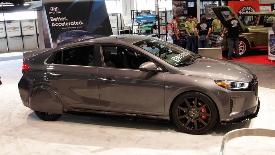 Hyundai HyperEconiq IONIQ: el tuning y la eficiencia no están reñidos