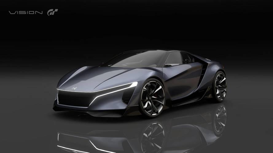 400-HP Honda Sports Vision GT Makes Its Digital Debut