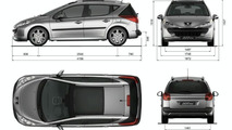 Peugeot 207 SW Revealed