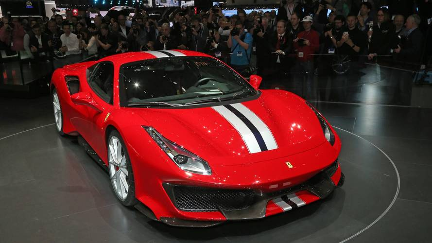Ferrari 488 Pista at the Geneva motor show