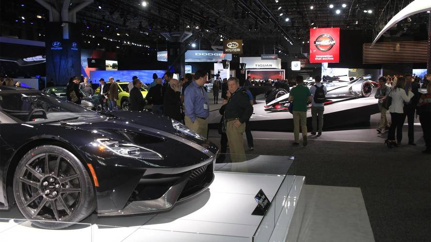 Walk Around The 2018 New York Auto Show Live With Us Right Now!