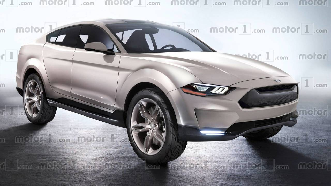 Ford Mustang SUV Render