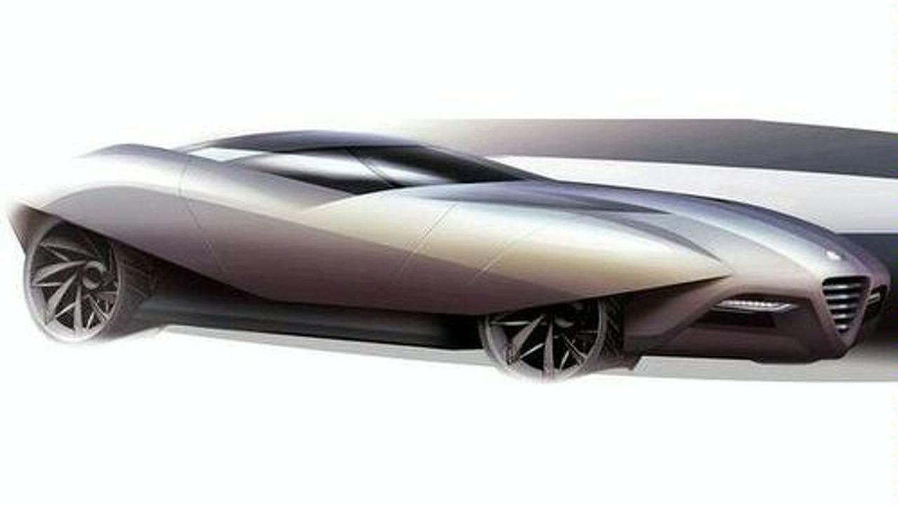 Alfa Romeo BAT11 Concept by Bertone