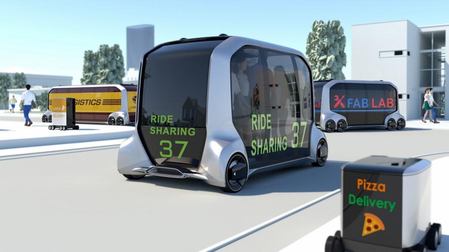 Toyota e-Palette concept, il trasporto del futuro al CES