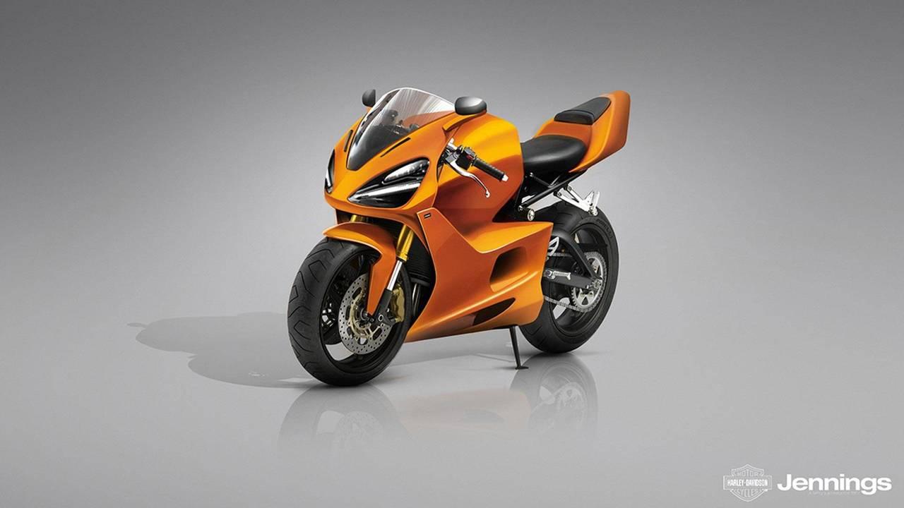 McLaren Spor Motosiklet