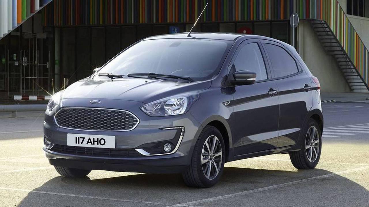 Ford Ka 2019 - Antes e depois