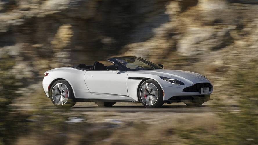 2018 Aston Martin DB11 Volante: In pictures