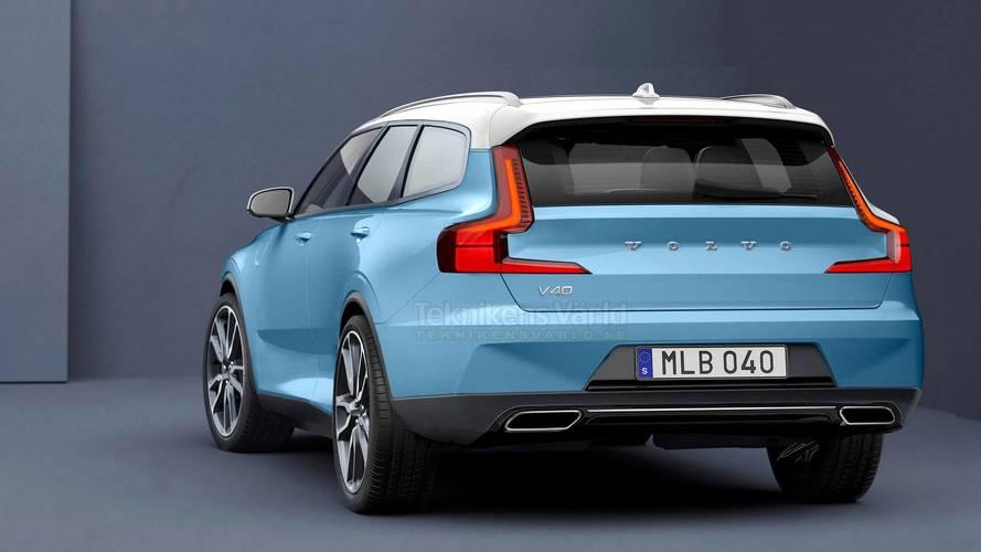 Volvo V40 2020 render, ¿seguirá esta línea de diseño?