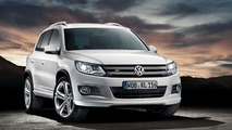 Volkswagen Tiguan with R-Line accessories - 4.11.2011