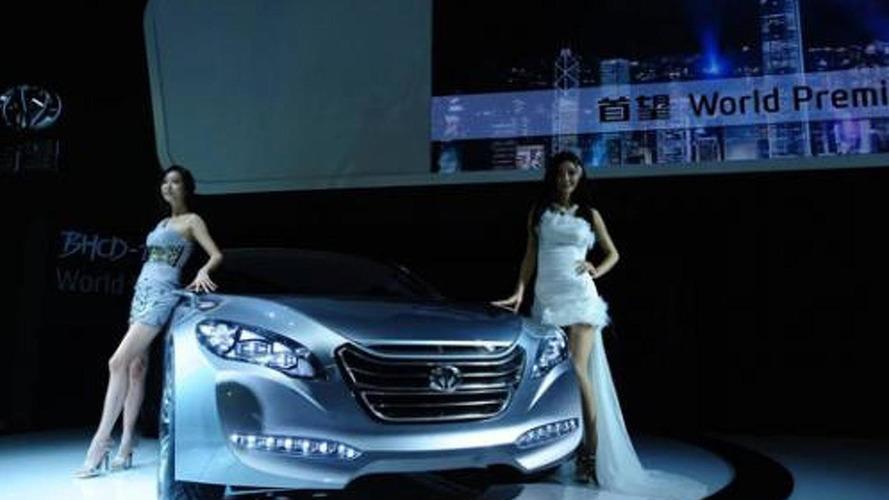 Hyundai Shouwang BHCD-1 concept unveiled