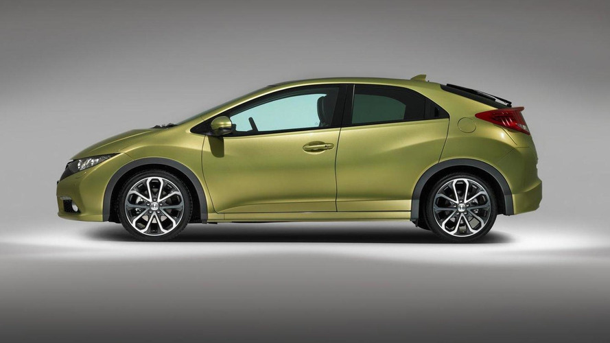 2012 Honda Civic (Euro-spec) first photos released [video]