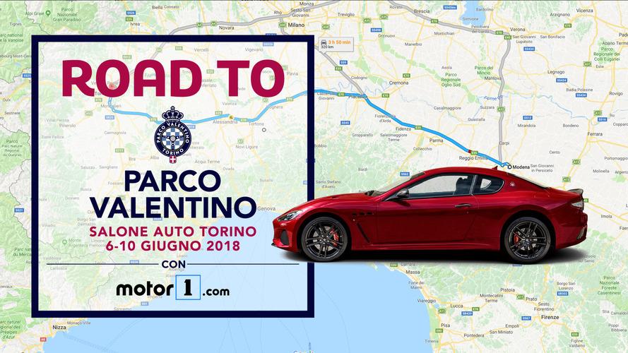 Road to Parco Valentino, andiamo a Torino... in supercar!