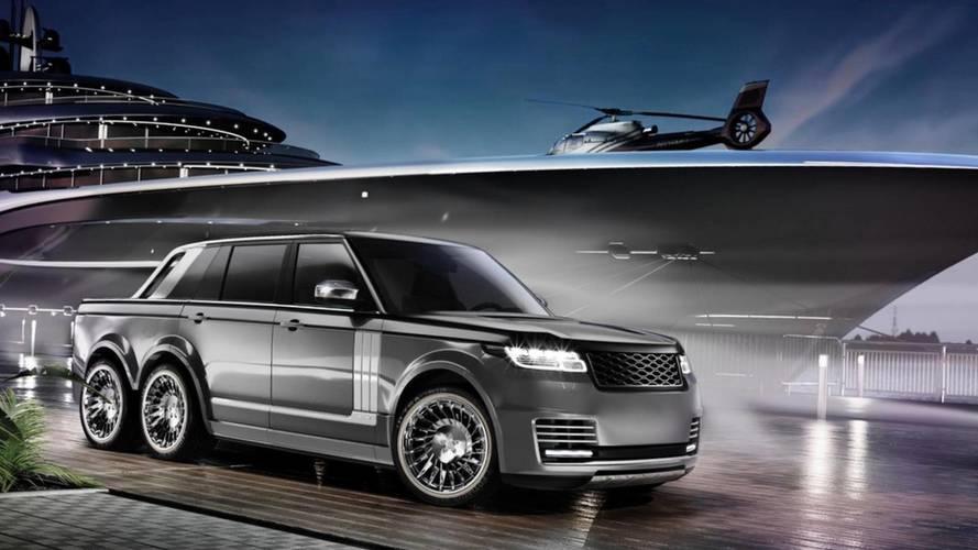 Range Rover SLT is a luxury monster truck