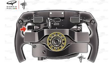 Le mystère de la troisième palette du volant Ferrari de Vettel...