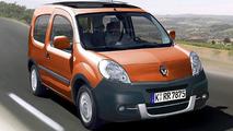 3-Door Renault Kangoo Spotted