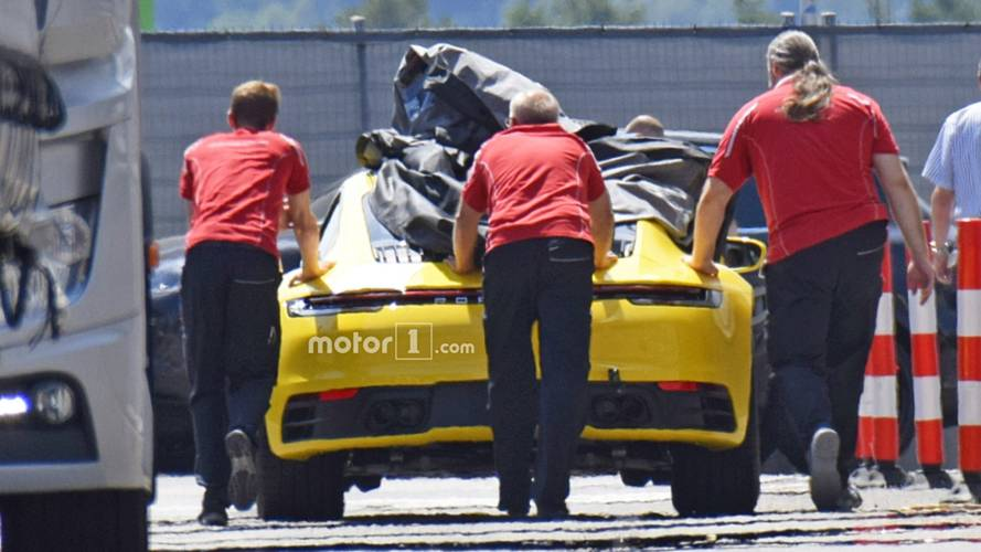 2019 Porsche 911 Reveals Sleek Rear End In Spy Photo
