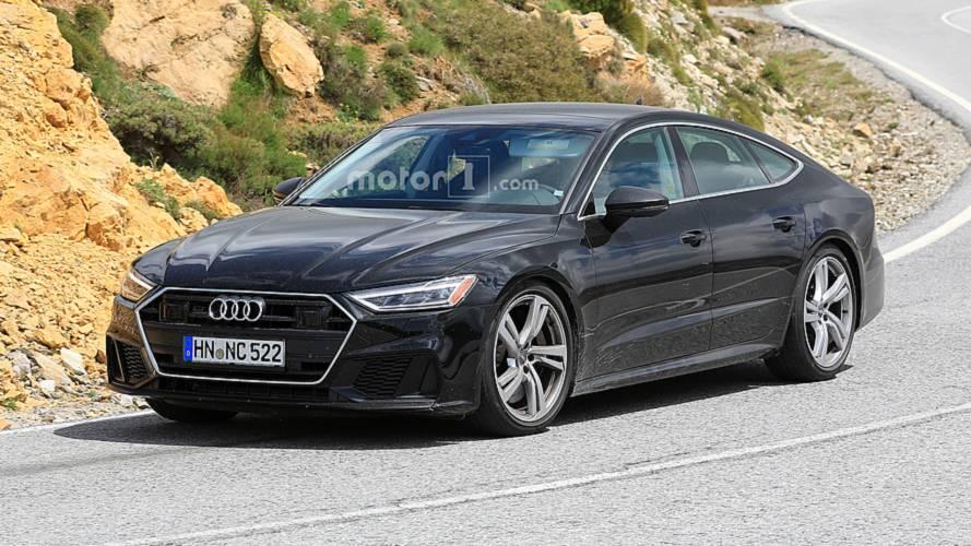 Audi S7 - Les derniers réglages avant sa présentation