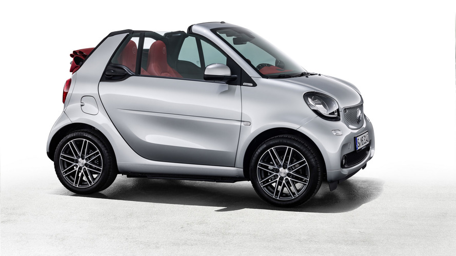 Smart ForTwo Cabrio Brabus Edition #2 and ForFour Crosstown Edition