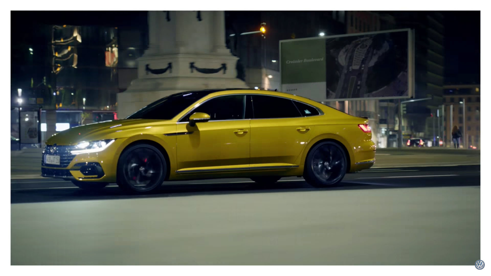 first vw arteon promo video has us wanting more. Black Bedroom Furniture Sets. Home Design Ideas