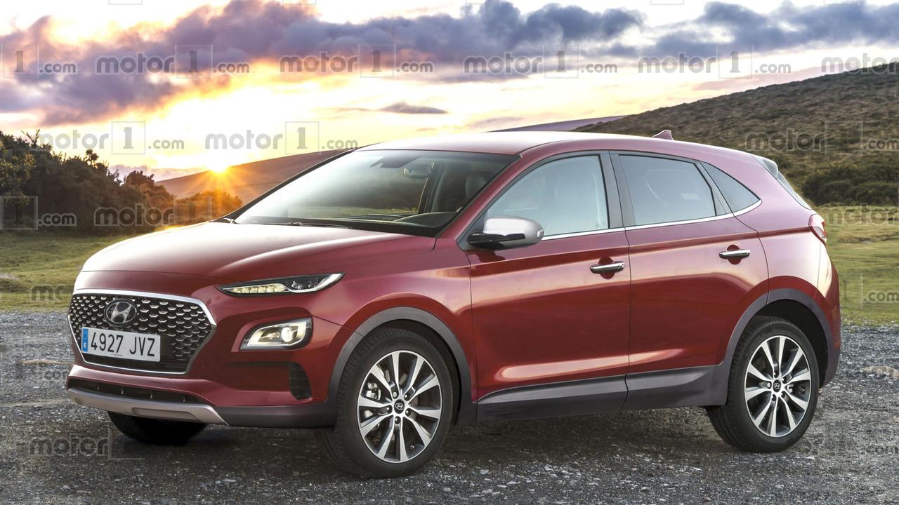 Hyundai Kona 2018 render