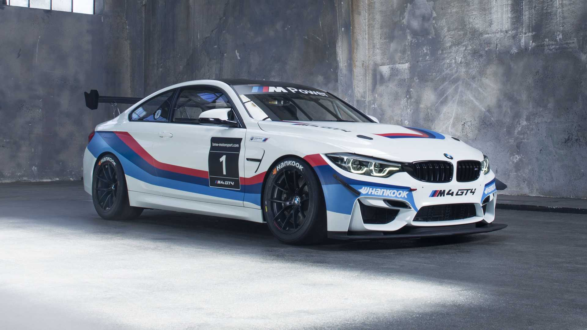 2018 bmw m4 gt4 is the most hardcore 4 series money can buy. Black Bedroom Furniture Sets. Home Design Ideas