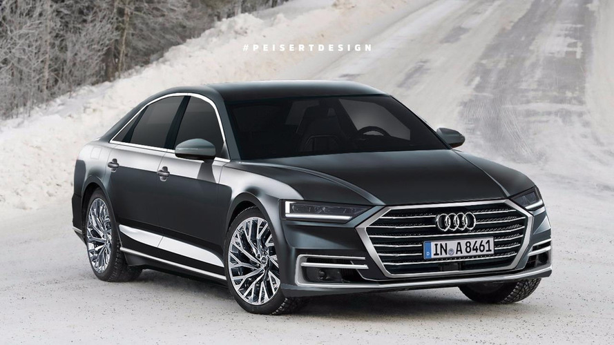 New Audi A8 Will Come Standard With 48-Volt Mild Hybrid Tech