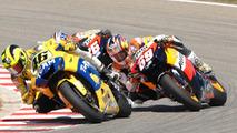 2006: Valentino Rossi, Nicky Hayden y Dani Pedrosa