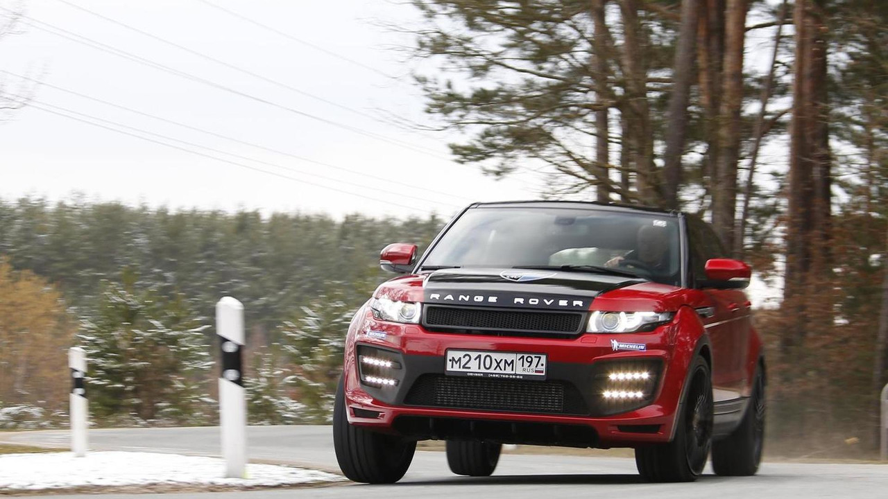 Range Rover Evoque by LARTE Design
