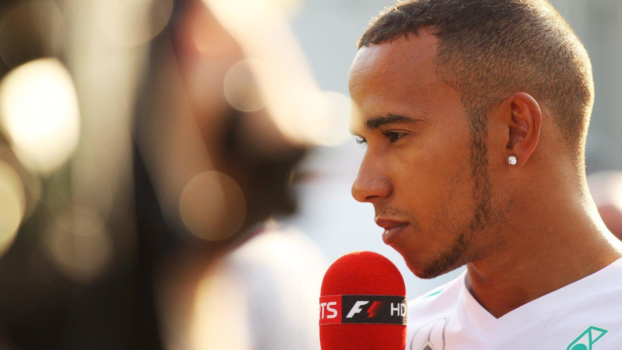 Lewis Hamilton 07.09.2013 Italian Grand Prix
