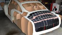 1961 Aston Martin DB4 body built using 3D printer 02.08.2013