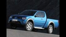 Nova Mitsubish L200 Triton muda para competir com a Toyota Hilux