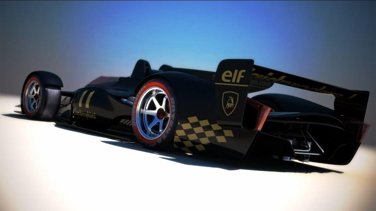 Lamborghini LMP-F Concept by Sabino Leerentveld