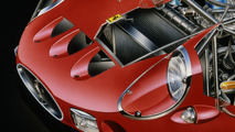Ferrari 250 GTO Cutaway by: David Kimble