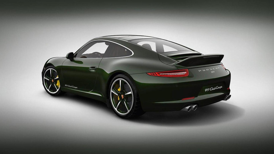 Porsche 911 Club Coupe special edition - for members only