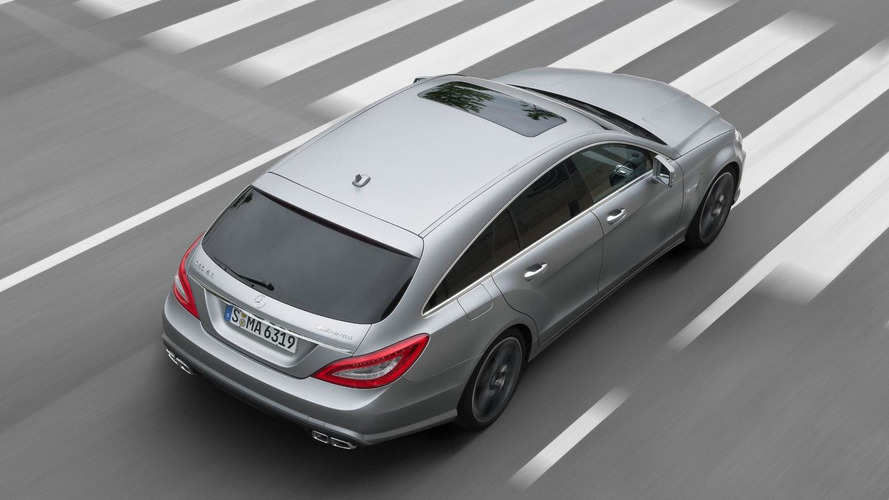 Mercedes-Benz CLS 63 AMG Shooting Brake details and photos released