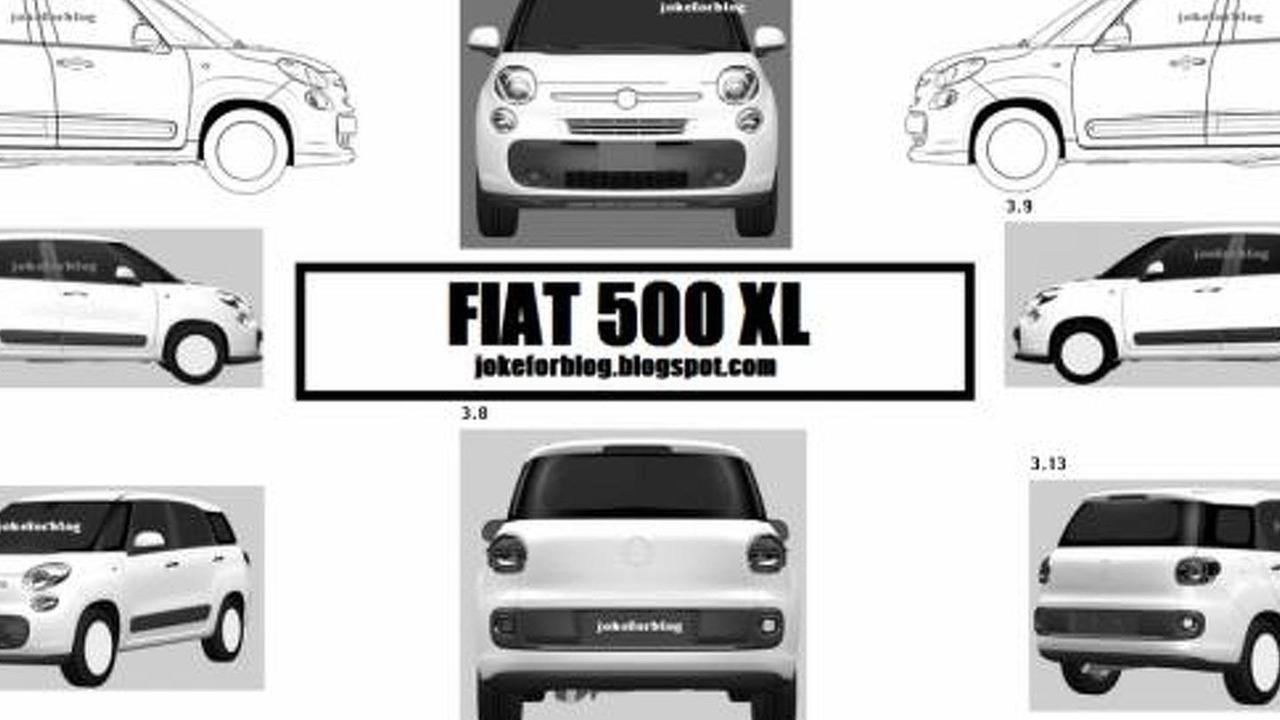 Possible Fiat 500 XL