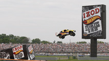Hot Wheels jump at Indy 500 by Tanner Faust 29.025.2011
