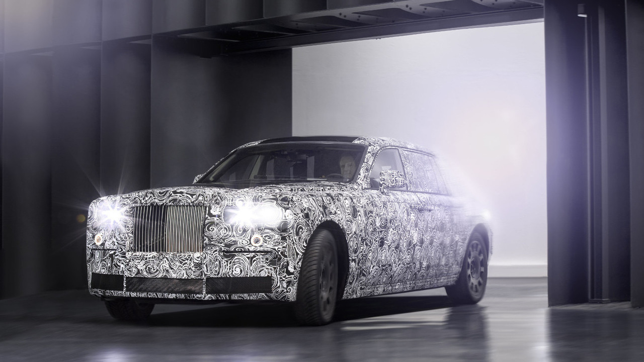 Rolls-Royce chassis testing mule