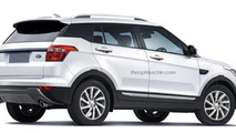 Land Rover entry level SUV rendering / Theophilus Chin