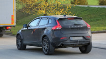 2017 Volvo XC40 chassis testing mule